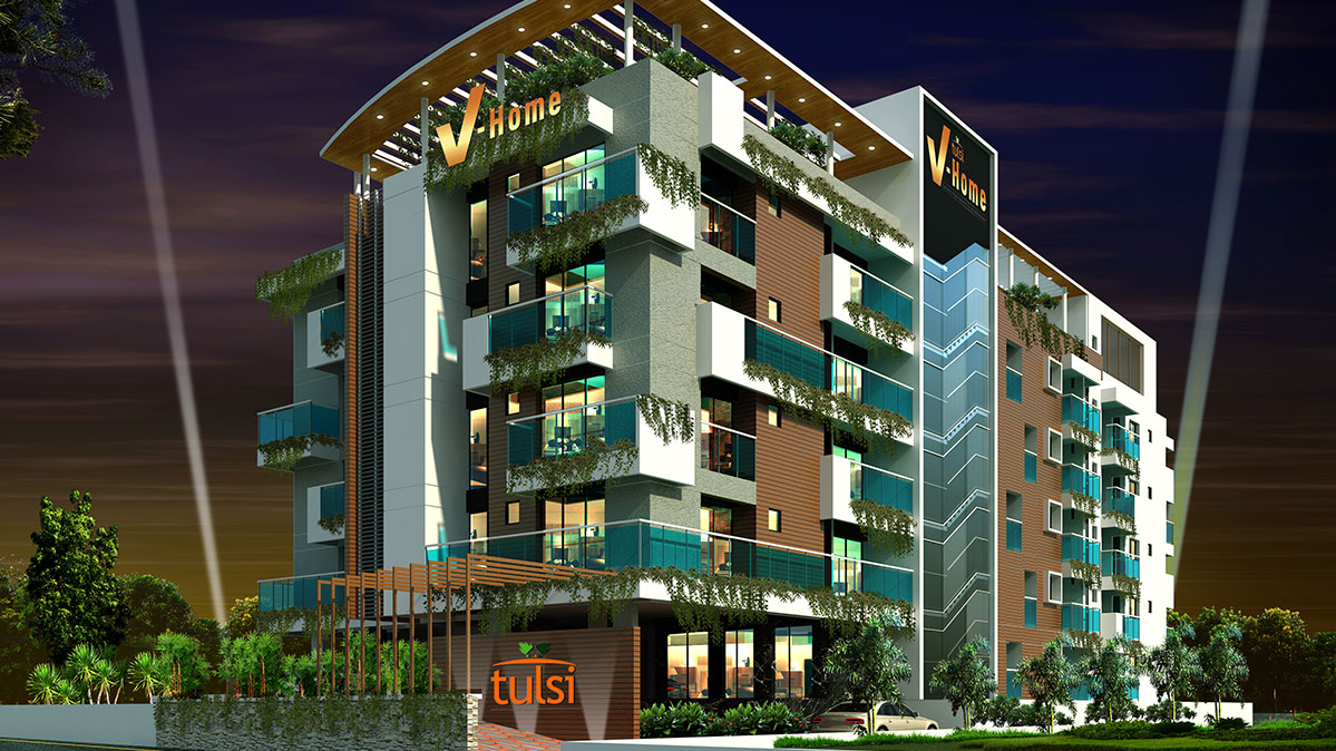 Flats for Sale in Kochi | Home Builders in Cochin, Kerala - Tulsi Developers